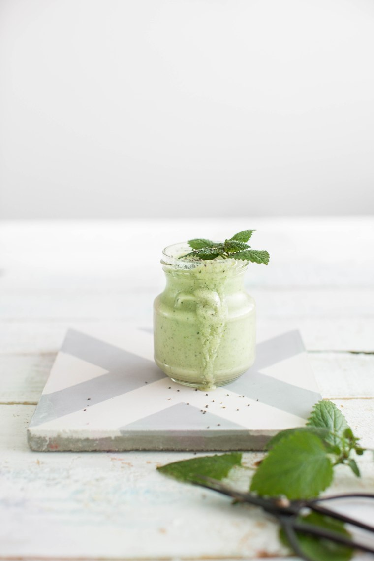 mint smoothie (1 of 1)
